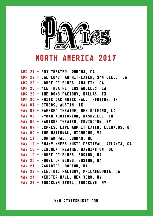 pixies 1st leg