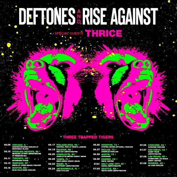 deftones-rise-against-thrice tour